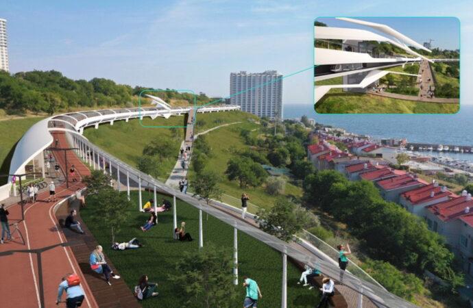 30 мостов, лифт к морю и скоростной трамвай: на одесском побережье может появиться свой Хай-Лайн