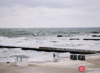 В Одессе объявили штормовое предупреждение на 26 марта