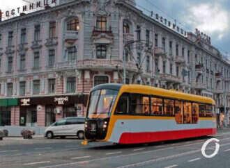 В 2020 году в Одессе планируют собрать 10 трамваев и 4 электробуса