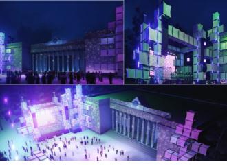 Розіграш призів та 3D-сцена: як у новорічну ніч відбуватиметься святкування біля головної ялинки Одеси