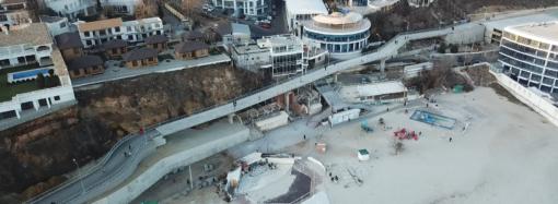 В Одессе подорожало строительство велопешеходной эстакады на Трассе Здоровья
