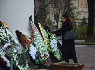 Одесситы простились со студентом, погибшим во время пожара в колледже