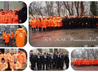 Одеські комунальники продовжують отримувати нову уніформу (фото)