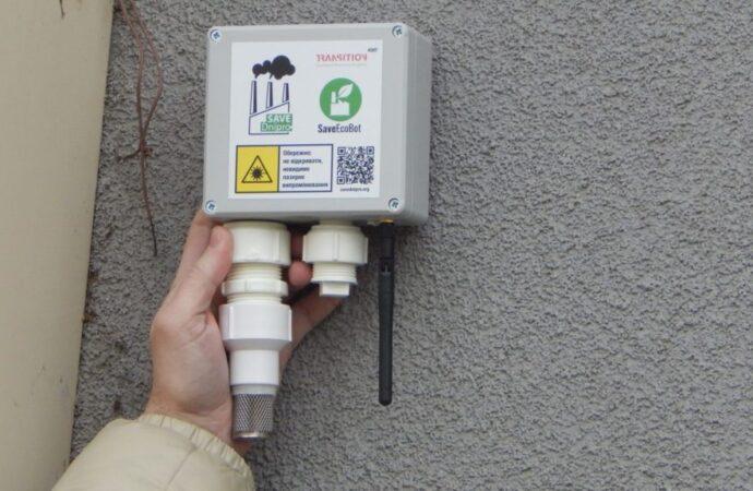 Под Одессой появилась станция для проверки качества воздуха