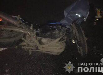 Под Одессой мотоциклиста насмерть сбил микроавтобус (фото)