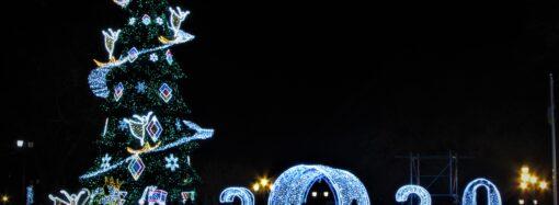 Труханов поздравил одесситов с праздниками и собирается высоко держать планку в следующем году