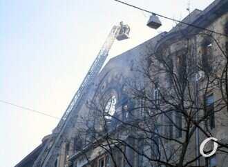 Уголовное дело по факту пожара в Одессе: установлены первые подозреваемые