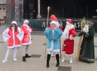 В Одессе замечено появление европейских Дедушек Морозов (фото)
