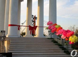Воронцовскую колоннаду в Одессе пришлось ремонтировать после двухлетней реставрации