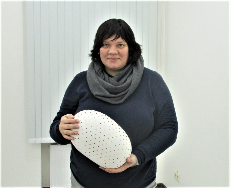 Татьяна Штыкало со своими работами