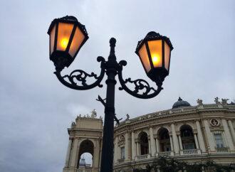 Фонари в Одессе будут гореть по ночам