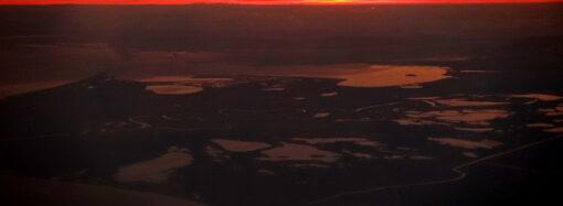 Вилково, Ізмаїл та Рені: у мережі з'явились фото узбережжя Чорного моря на заході з висоти в кілька кілометрів