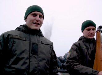 Українські нацгвардійці записали кавер на пісню «Щедрик» (відео)