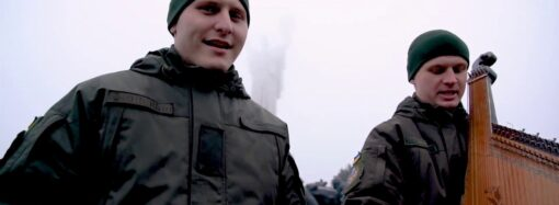 """Українські нацгвардійці записали кавер на пісню """"Щедрик"""" (відео)"""