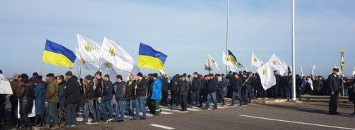 Что произошло в Одессе 19 декабря: протест аграриев и преображение улиц города