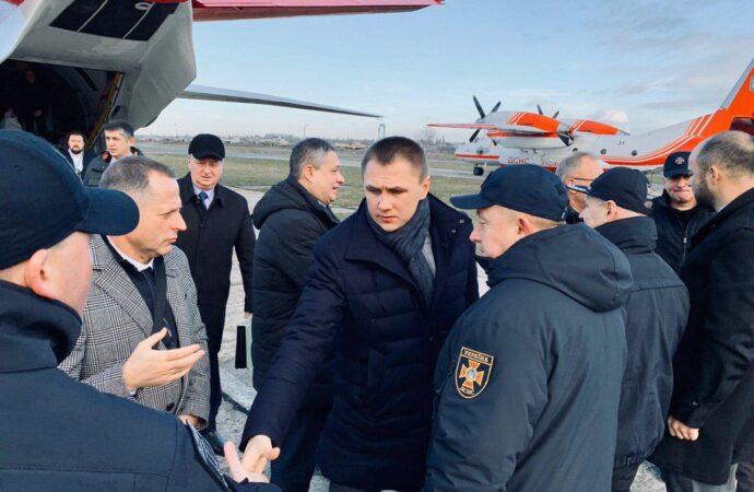 Чтобы расследовать обстоятельства пожара, в Одессу прибыли представители Кабмина