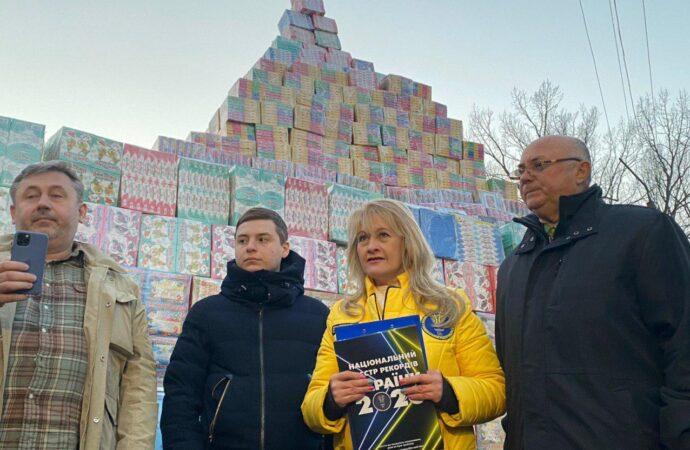 Найбільша кількість іграшок та найвища вежа: як в Одесі встановили одразу три рекорди України