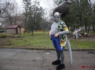 Директор одесского зоопарка сыграл крысу в новогоднем клипе (видео)