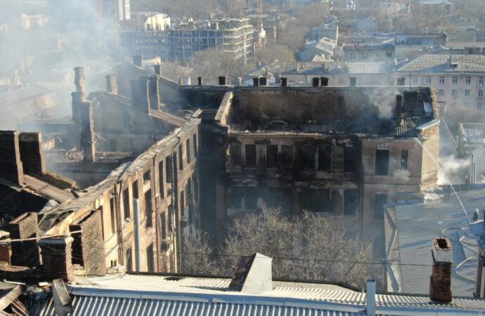 Что произошло в Одессе 6 декабря: количество погибших под завалами и заявления ГСЧС о пожаре