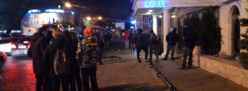 В Одесі активісти штурмували нічний клуб «Палладіум» через висловлювання російського репера Morgenshtern