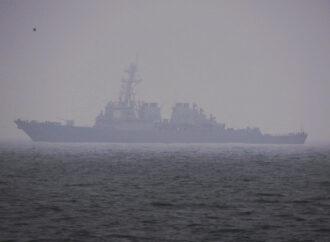 У берегов Одессы ошвартовалось американское боевое судно