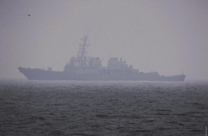 Что произошло в Одессе 24 декабря: американское судно в одесском порту и новое количество ОТГ в области