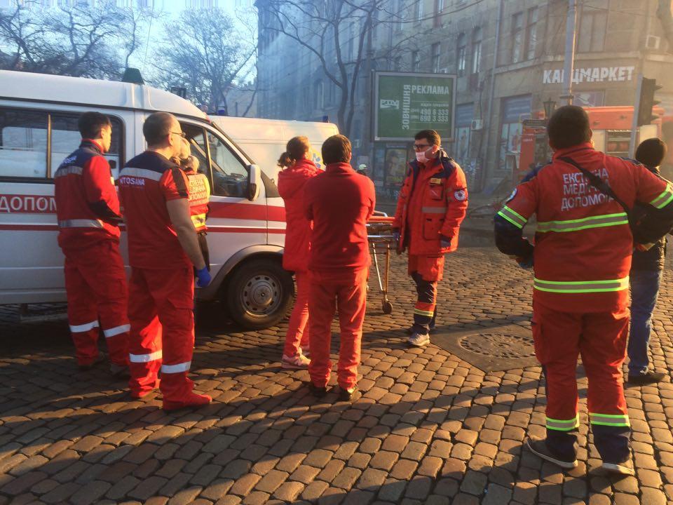 ГСЧС: Водесском колледже небыло пожарной сигнализации