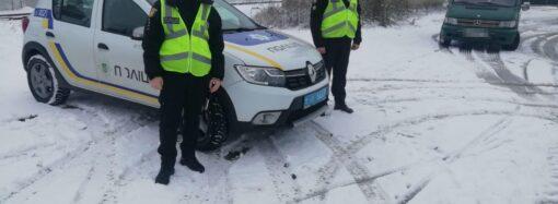 Вниманию водителей: снег с дождем осложняет движение на дорогах Одесской области