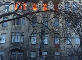 Студентам колледжа, горевшего в Одессе, отсрочат сдачу сессии