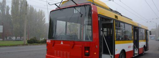 Некоторые одесские трамваи и троллейбусы остановились из-за аварии на электроподстанции
