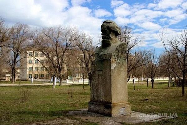 Так памятник выглядел раньше