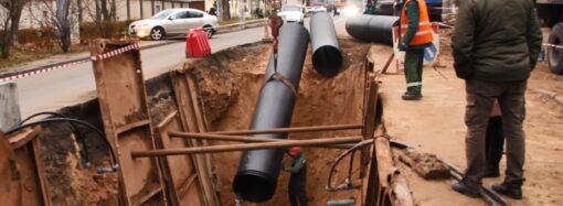 «Инфоксводоканал» проложил новый канализационный коллектор по улице Львовской
