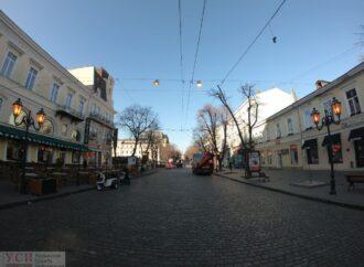 Почему в Одессе среди бела дня горели фонари?