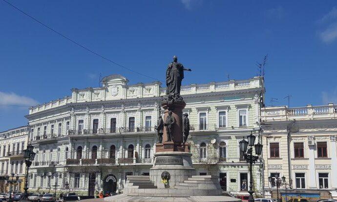 В Одессе Екатерину II и ее фаворитов будут охранять за 1,5 миллиона бюджетных гривен