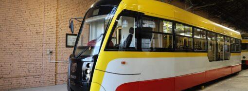 У новому році «Одесміськелектротранс» представив перший трамвай власної збірки (фото)