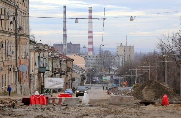 Як відбувається реконструкція узвозу Маринеско (фото)