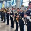 """Концерт за участі оркестрів: як в Одеському аеропорту вшановували пам'ять """"кіборгів"""" (відео)"""