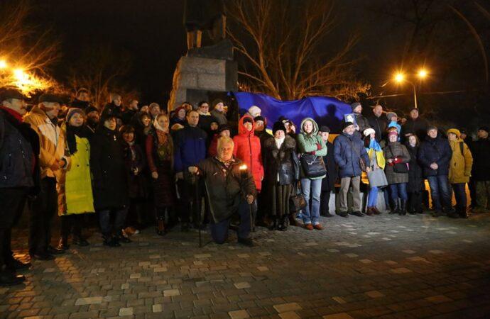 З портретами та червоно-чорними стягами: як в Одесі відсвяткували День народження Степана Бандери