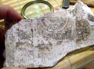 В одесском Замке Монстров обнаружена саксонская плитка позапрошлого века