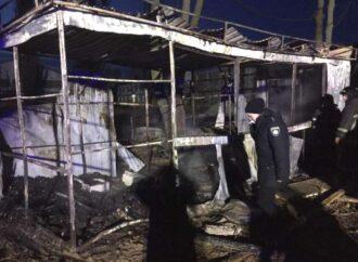 Под Одессой во время пожара погибло трое строителей