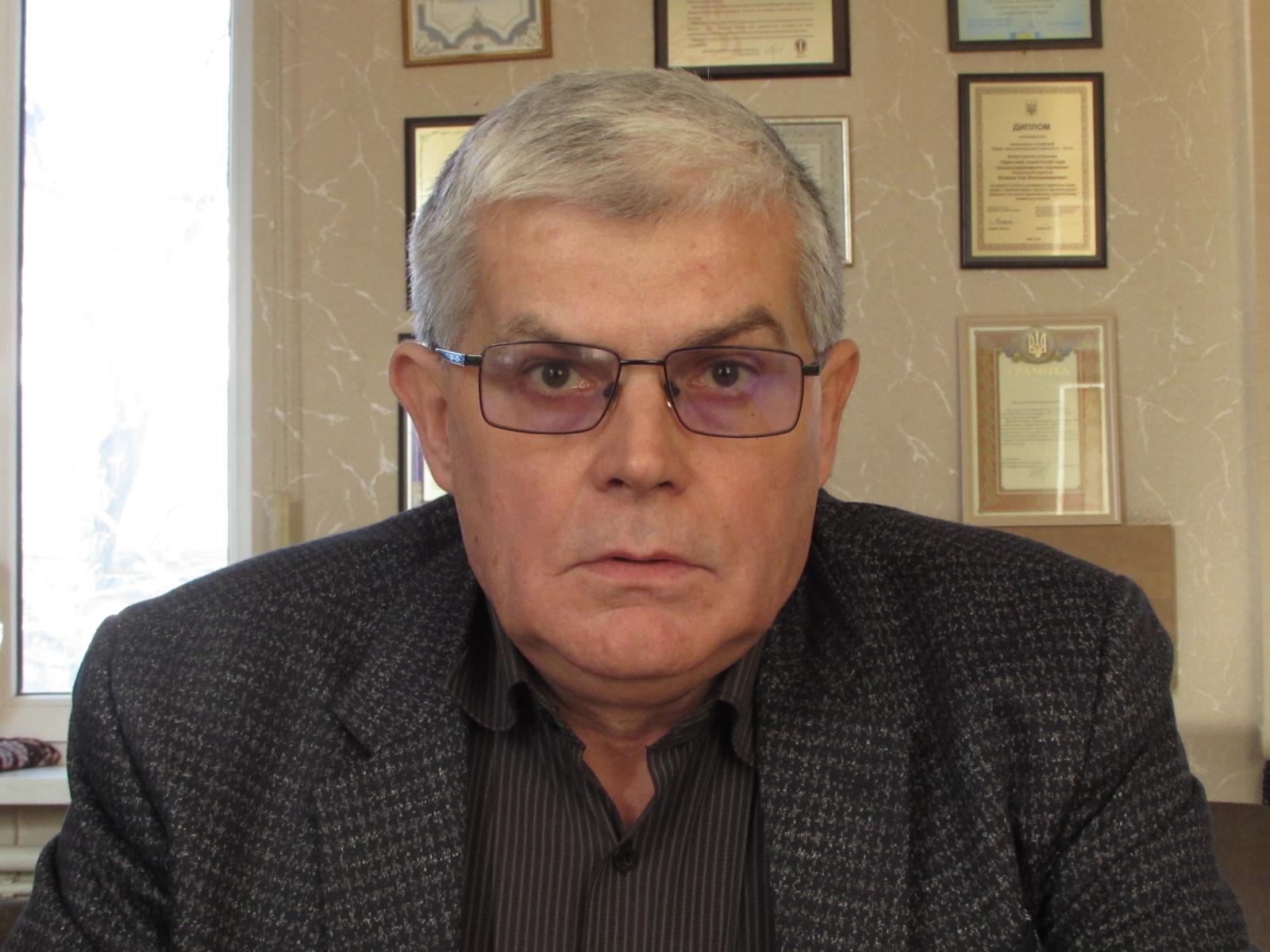 Директор Одесского зоопарка Игорь Беляков