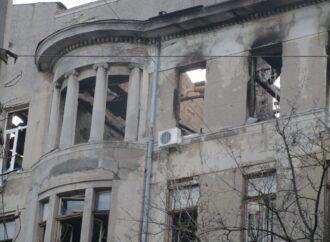 Суд наложил арест на часть имущества горевшего в Одессе Дома Асвадурова