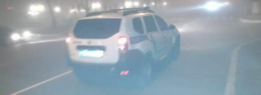 Не робіть різких маневрів: одеські поліцейські закликають бути обережними на дорозі під час густого туману