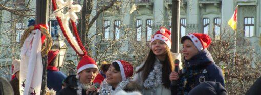 «Ой, радуйся, земле!»: как одесситы Рождество на Дерибасовской отмечали (фото)