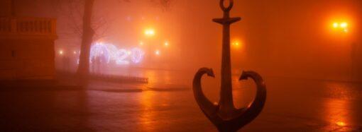 Будинок Руссова і оперний театр: як густий туман розійшовся історичною частиною Одеси (фото)