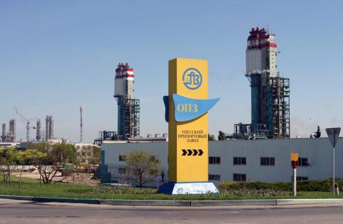 Одеський припортовий завод скоротив виробництво аміаку у 5 разів