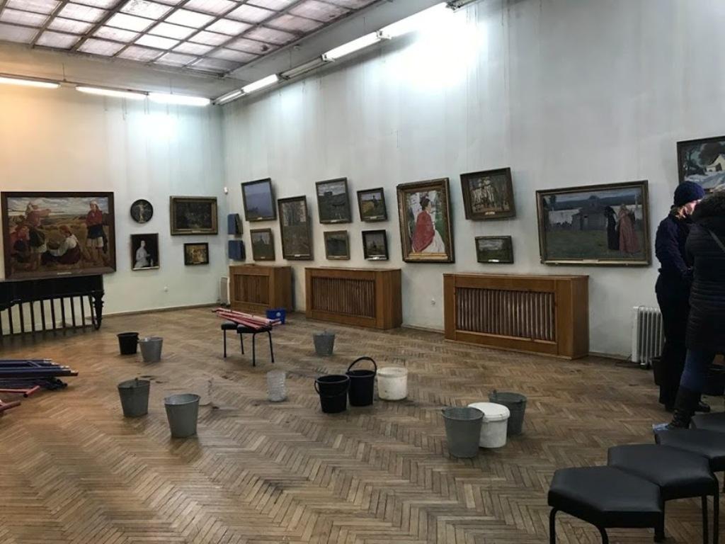 Серебряковский зал - было