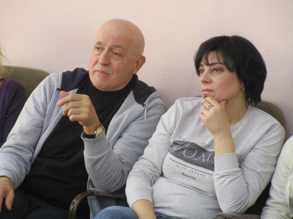Владимир Подгородинский и Ольга Навроцкая