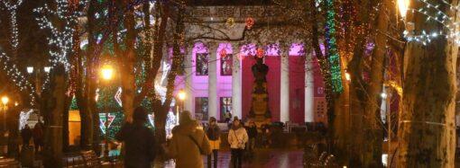 Новогоднее волшебство: одесситам устроили 3D-шоу на Думской площади (видео)