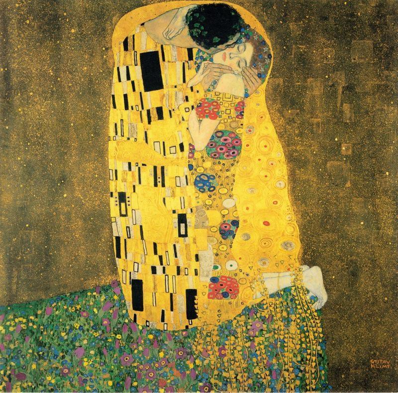 """Картина Густава Климта """"Поцелуй"""", фото: artplease"""